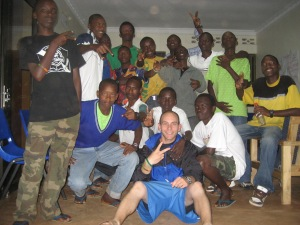 My family and I, Agahozo Shalom Youth Village 2010