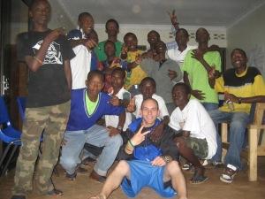 My family and I, Agahozo Shalom Youth Village 2010