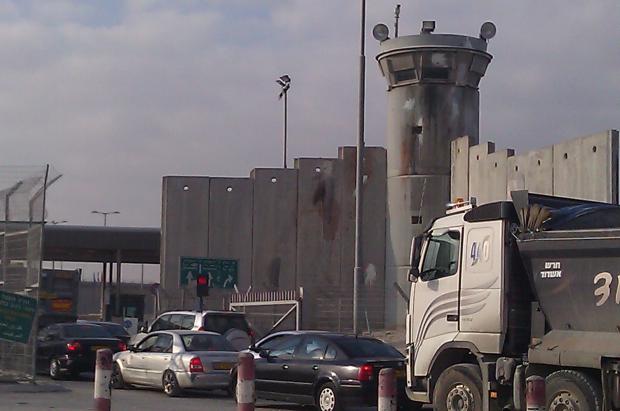 Meinzer-Qalandiya checkpoint